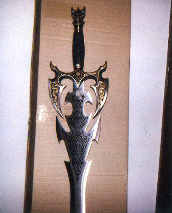 This is the sword of darkness ii very detailed